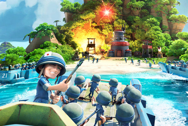 Supercell updates Boom Beach branding: logo, key art, app icon