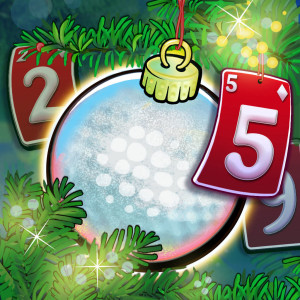 Fairway Solitaire Blast Holiday Christmas Game App Icon 2015