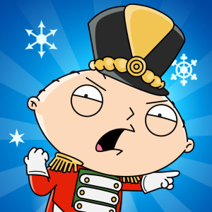 Family Guy: Quest for Stuff Holiday Christmas Game App Icon 2015