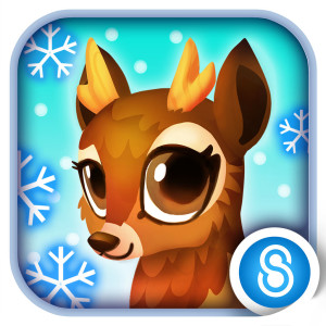 Fantasy Forest Story Holiday Christmas Game App Icon 2015