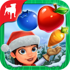 Farmville Harvest Swap Holiday Christmas Game App Icon 2015