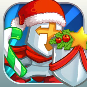 Frontier Defense Holiday Christmas Game App Icon 2015