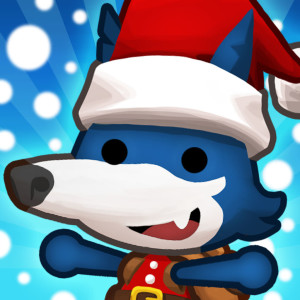 Happy Street - Holiday Christmas Game App Icon 2015