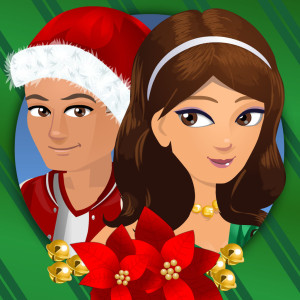 High School Story Holiday Christmas Game App Icon 2015
