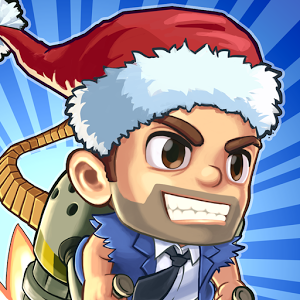 Jetpack Joyride Holiday Christmas Game App Icon 2015