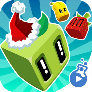 Juice Cubes Holiday Christmas Game App Icon 2015