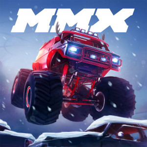 MMX Racing Holiday Christmas Game App Icon 2015