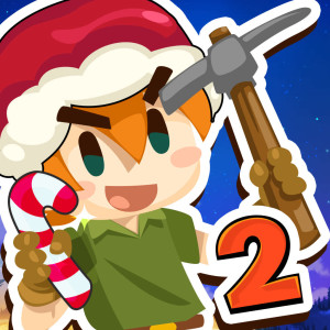 Pocket Mine 2 Holiday Christmas Game App Icon 2015