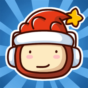 Scribblenauts Remix - Holiday Christmas Game App Icon 2015