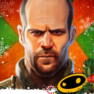 Sniper X: Jason Statham - Holiday Christmas Game App Icon 2015