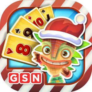 Solitaire TriPeaks - Holiday Christmas Game App Icon 2015