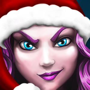 Sunken World - Holiday Christmas Game App Icon 2015