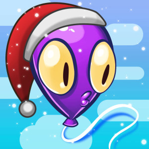 The Balloons - Holiday Christmas Game App Icon 2015