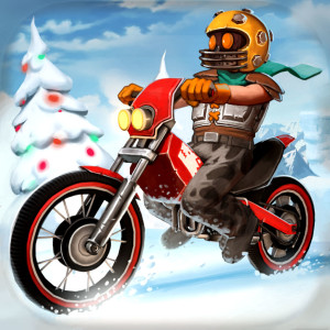 Trials Frontier- Holiday Christmas Game App Icon 2015