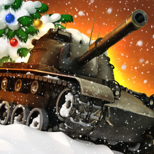 World of Tanks Blitz - Holiday Christmas Game App Icon 2015