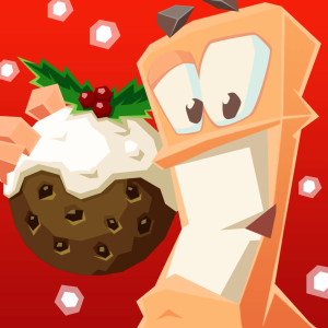 Worms 4 - Holiday Christmas Game App Icon 2015