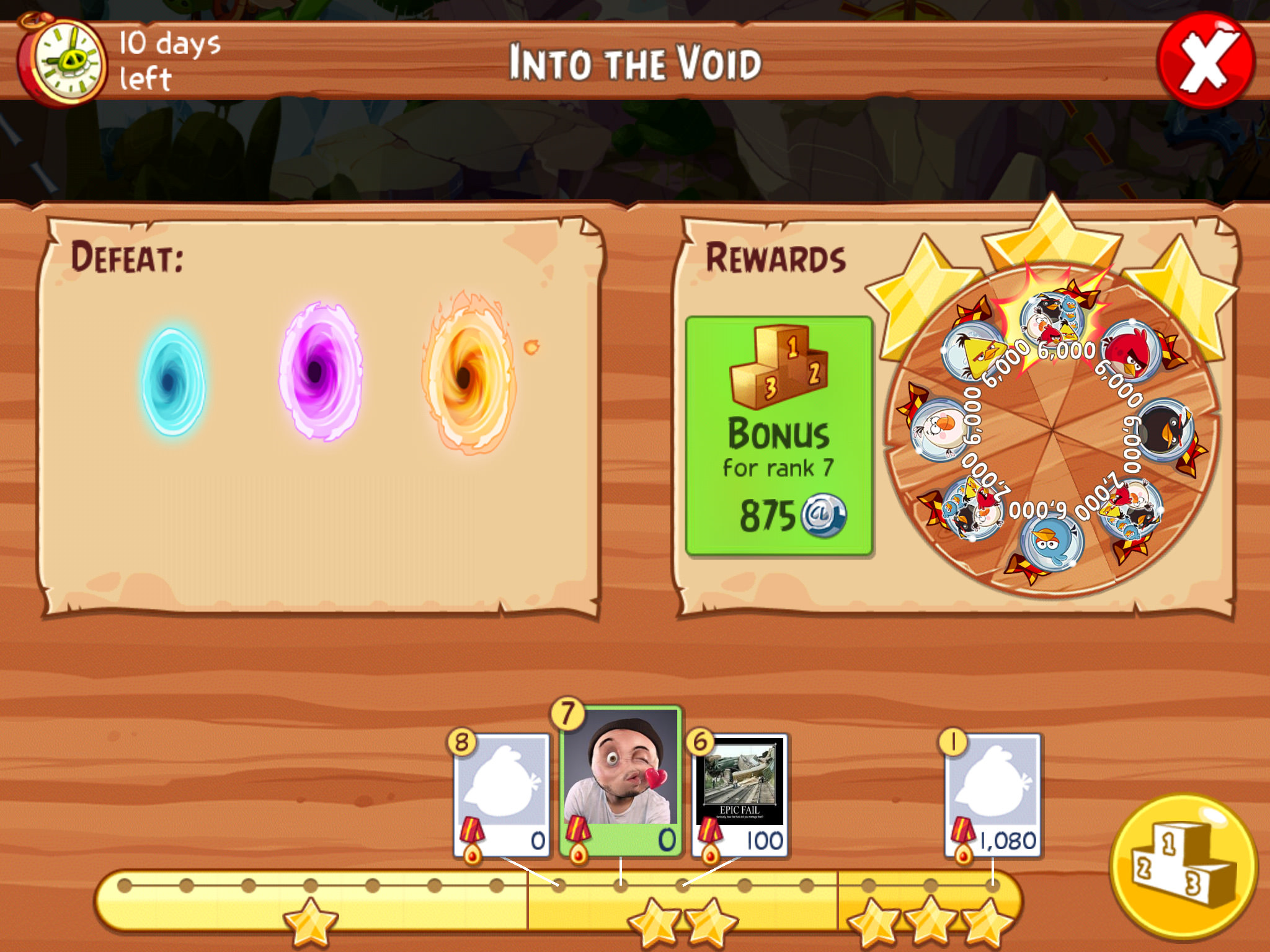 Angry Birds and Puzzle and Dragons partnership - Progress
