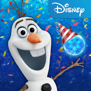Frozen Free Fall Holiday Christmas Game App Icon 2015