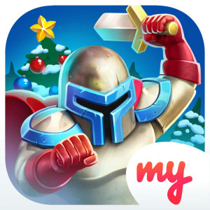 Might and Glory Holiday Christmas Game App Icon 2015