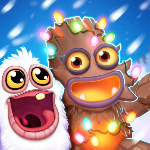 My Singing Monsters Dawn of Fire Holiday Christmas Game App Icon 2015