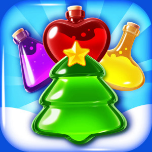 Potion Pop - Holiday Christmas Game App Icon 2015