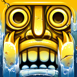 Temple Run 2 - Holiday Christmas Game App Icon 2015