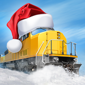 Trainstation - Holiday Christmas Game App Icon 2015
