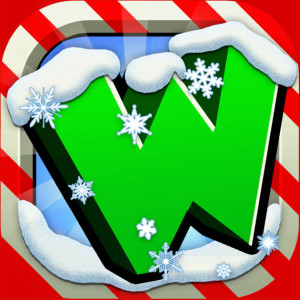 Word Chums - Holiday Christmas Game App Icon 2015