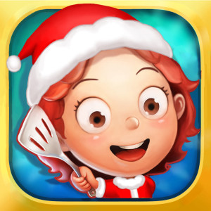 Yes Chef - Holiday Christmas Game App Icon 2015