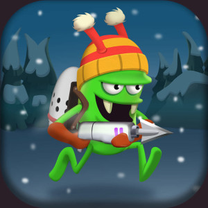 Zombie Catcher - Holiday Christmas Game App Icon 2015